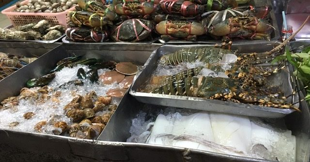 Seafood in Chinatown